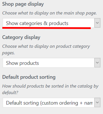 Woocommerce display categories shop How to Display Categories on the Shop Page on WooCommerce